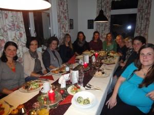 Weihnachtsfeier des EKIZ Teams